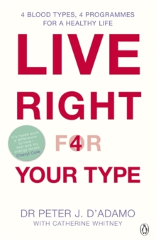 Live Right for Your Type, Paperback / softback Book