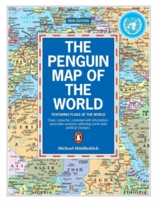 The Penguin Map of the World, Paperback / softback Book