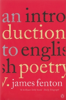 An Introduction to English Poetry, Paperback / softback Book