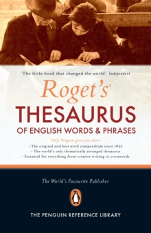 Roget's Thesaurus of English Words and Phrases, Hardback Book