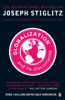 Globalization And Its Discontents, Paperback Book