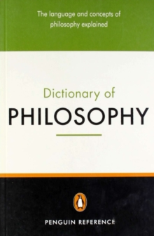 The Penguin Dictionary of Philosophy, Paperback / softback Book