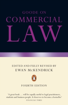 Goode on Commercial Law : Fourth Edition, Paperback Book