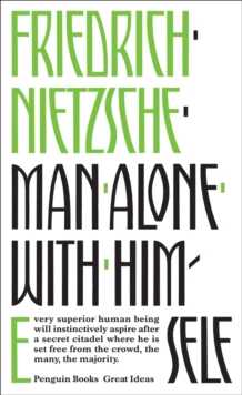 Man Alone with Himself, Paperback / softback Book