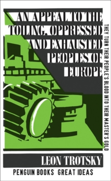 An Appeal to the Toiling, Oppressed and Exhausted Peoples of Europe, Paperback / softback Book
