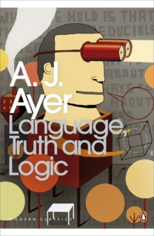 Language, Truth and Logic, Paperback / softback Book