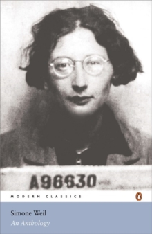 Simone Weil: An Anthology, Paperback / softback Book