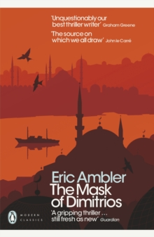 The Mask of Dimitrios, Paperback Book