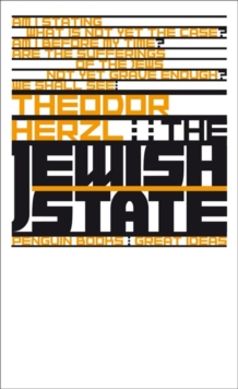 The Jewish State, Paperback / softback Book