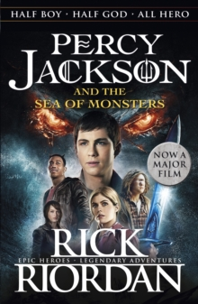 Percy Jackson and the Sea of Monsters (Book 2), Paperback Book