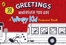Greetings from Wherever You Are: A Wimpy Kid Postcard Book, Hardback Book