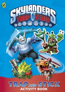 Skylanders Trap Team: Trap and Stick Activity Book, Paperback Book