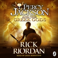Percy Jackson and the Greek Gods, eAudiobook MP3 eaudioBook