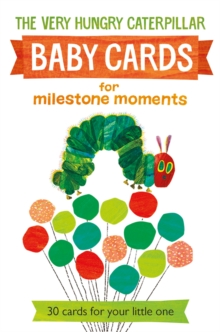 Very Hungry Caterpillar Baby Cards for Milestone Moments, Hardback Book