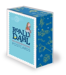 Roald Dahl 100 Phizz-Whizzing Postcards, Hardback Book