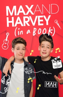 Max and Harvey: In a Book, Hardback Book