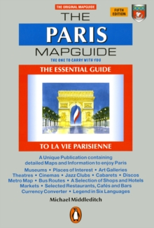 The Paris Mapguide, Paperback Book