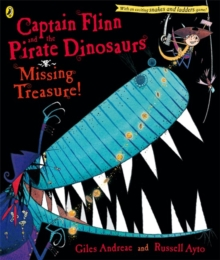 Captain Flinn and the Pirate Dinosaurs: Missing Treasure!, Paperback Book