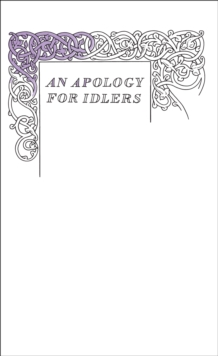 An Apology for Idlers, EPUB eBook