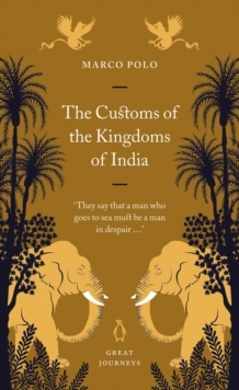 The Customs of the Kingdoms of India, EPUB eBook