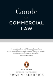Goode on Commercial Law : Fifth Edition, Paperback / softback Book