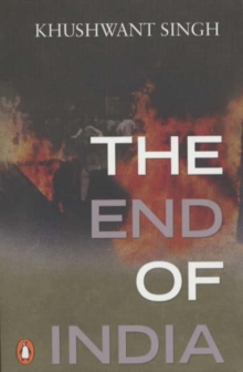 The End of India, Paperback Book