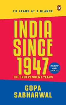 India Since 1947 : The Indepenent Years, Paperback Book