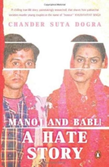 Manoj and Babli : A Hate Story, Paperback Book