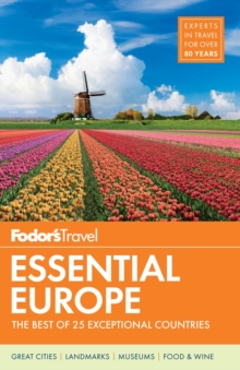 Fodor's Essential Europe, Paperback Book