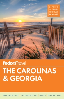 Fodor's the Carolinas & Georgia, Paperback Book