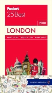 Fodor's London 25 Best, Paperback Book