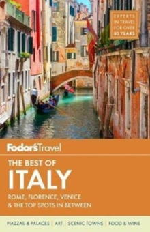 Fodor's the Best of Italy, Paperback Book