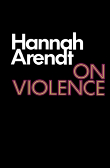 On Violence, Paperback / softback Book