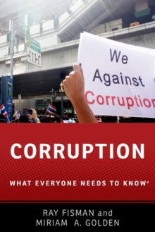 Corruption : What Everyone Needs to Know (R), Paperback Book