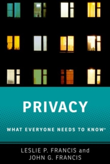 Privacy : What Everyone Needs to Know (R), Paperback Book