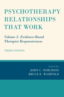 Psychotherapy Relationships that Work : Volume 2: Evidence-Based Therapist Responsiveness, PDF eBook