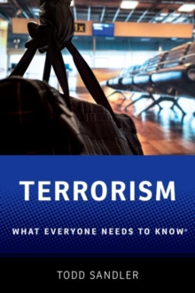 Terrorism : What Everyone Needs to Know (R), Paperback / softback Book