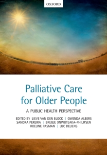 Palliative care for older people : A public health perspective, PDF eBook