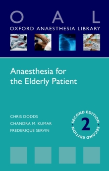 Anaesthesia for the Elderly Patient, PDF eBook