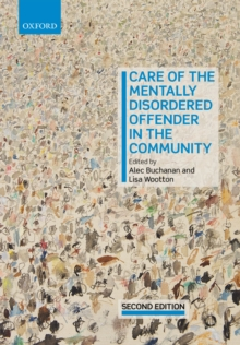 Care of the Mentally Disordered Offender in the Community, PDF eBook