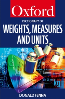 A Dictionary of Weights, Measures, and Units, EPUB eBook