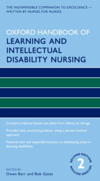 Oxford Handbook of Learning and Intellectual Disability Nursing, PDF eBook