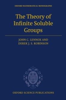 The Theory of Infinite Soluble Groups, PDF eBook