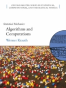 Statistical Mechanics: Algorithms and Computations, PDF eBook