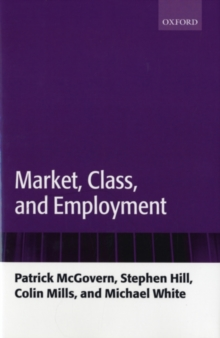 Market, Class, and Employment, PDF eBook