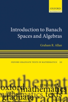 Introduction to Banach Spaces and Algebras, PDF eBook
