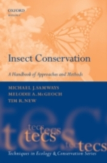 Insect Conservation : A Handbook of Approaches and Methods, PDF eBook