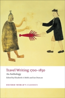 Travel Writing 1700-1830 : An Anthology, PDF eBook