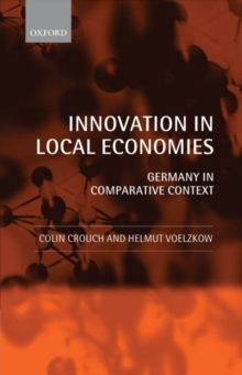 Innovation in Local Economies : Germany in Comparative Context, PDF eBook