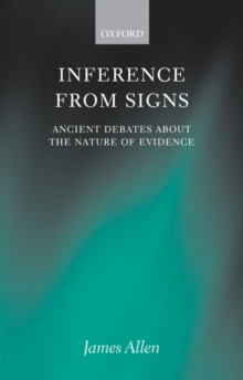 Inference from Signs : Ancient Debates about the Nature of Evidence, PDF eBook